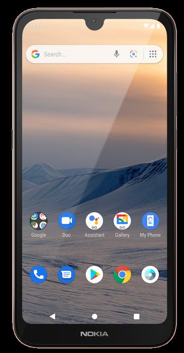 Nokia 1.3   Cheap entry level Go phone at Argos