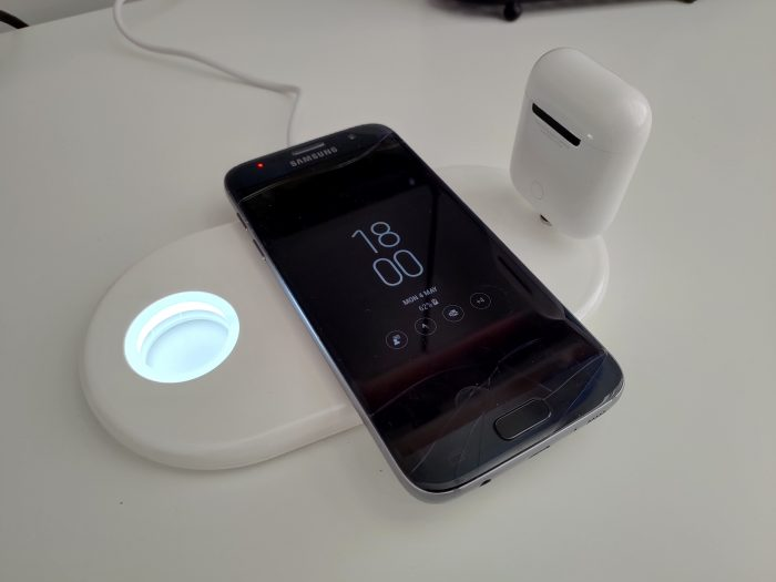 Vissles W 3 in 1 wireless charger   Review