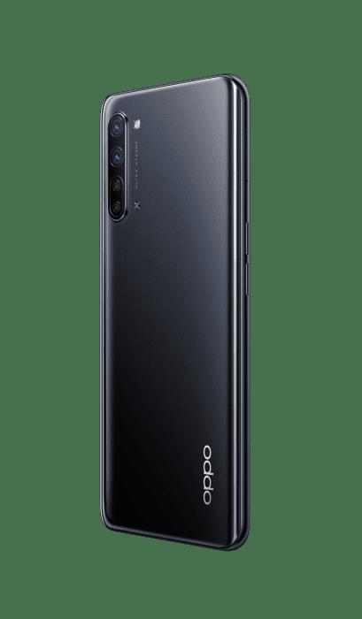 Reno3 产品图Product Render 黑black 右背45度 RGB