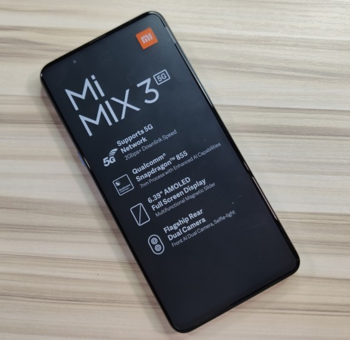 Xiaomi Mi MIX 3 5G   Super cheap on O2 with discount code