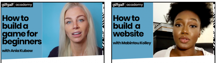 Boost your digital skills with the giffgaff Academy