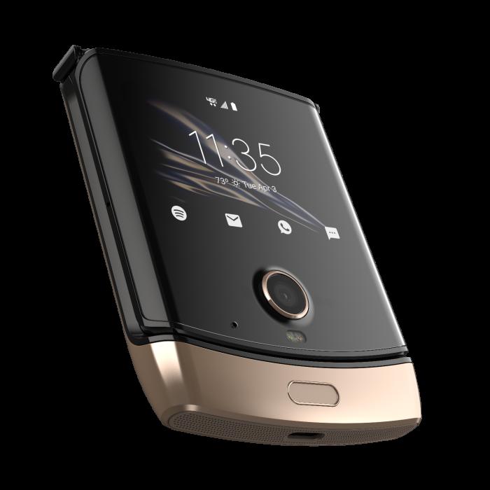 Motorola Razr   Now in Blush Gold