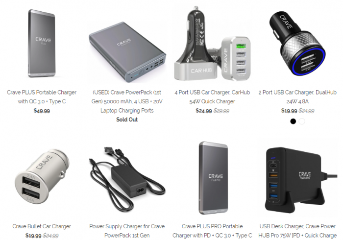 Get our EXCLUSIVE discount on chargers, cases, cables and more!