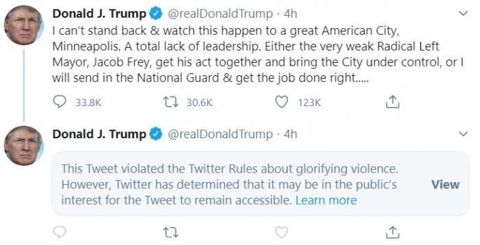Trump Twitter storm continues