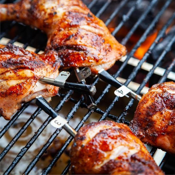 Just how hot is your meat? Your smartphone can help you become a BBQ King!