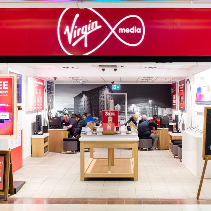 Virgin Media to close UK stores