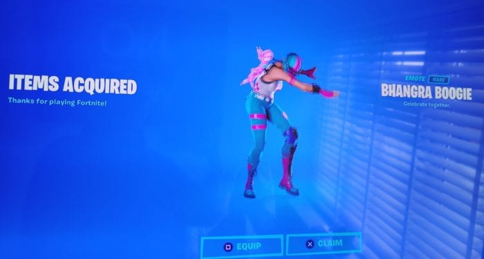 Free Fortnite emote for OnePlus owners!