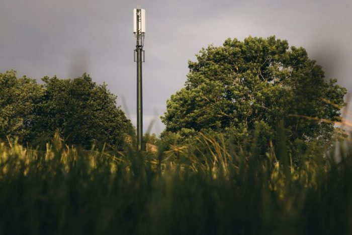 Another Shared Rural Network mast goes up.