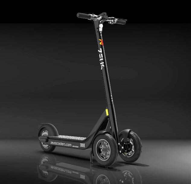 Zeus looks get into UK electric scooter trials