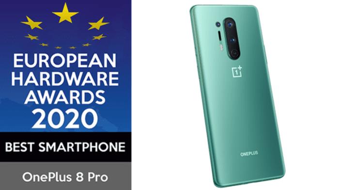 OnePlus 8 Pro wins Best Smartphone