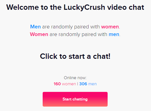 LuckyCrush   Chat and pair up easily