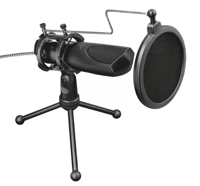 New Trust plug and play USB microphones. Ideal for podcasts and calls.