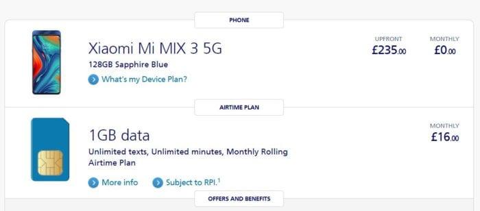 Xiaomi Mi MIX 3 5G. Another great deal!