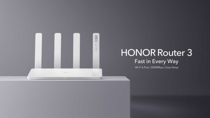 Honor launch the new Router 3