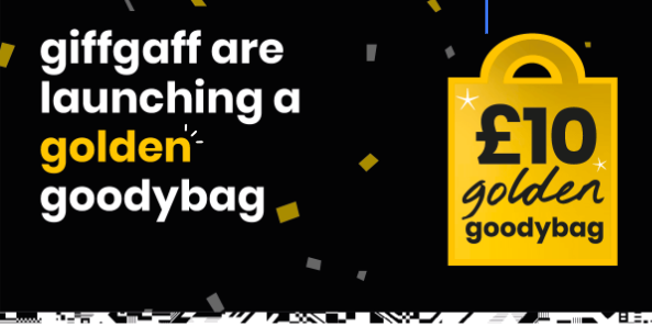 I love gold! More data for the same price with giffgaff