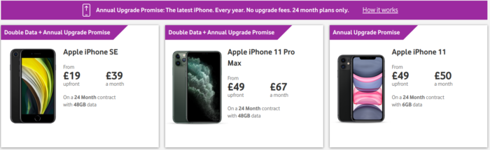Get the latest iPhone each year without an upgrade fee