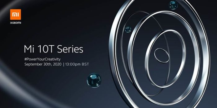 Mi 10T Series launch confirmed. September 30th