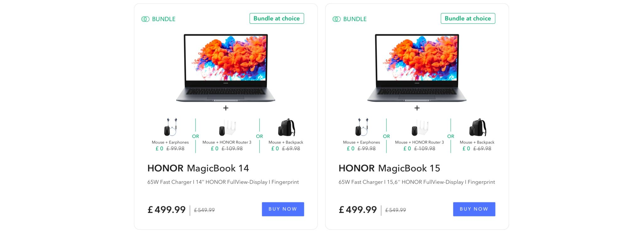 Honor announce Back to School event
