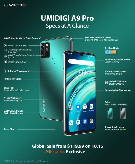 Umidigi A9 Pro   Coming soon with crazy price in tow