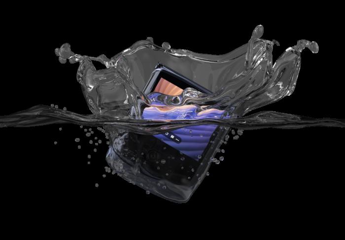 Copy of motorola razr 5G   Advanced Pack   In Water (Closed)