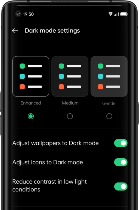 Customizable Dark Mode