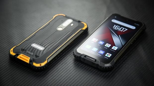 DOOGEE S58 Pro Android rugged smartphone announced.