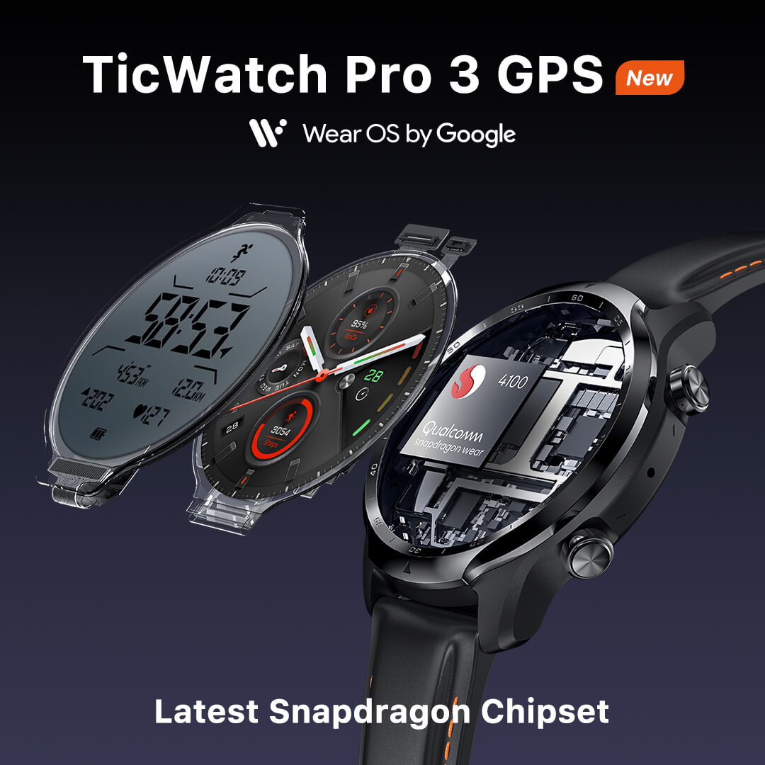 TicWatch Pro 3 GPS launched