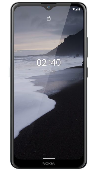 Nokia 2.4 CHARCOAL Front