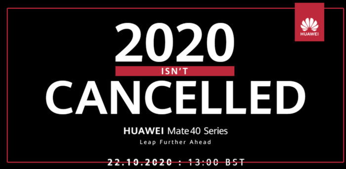 Huawei prep for Mate 40 Series launch