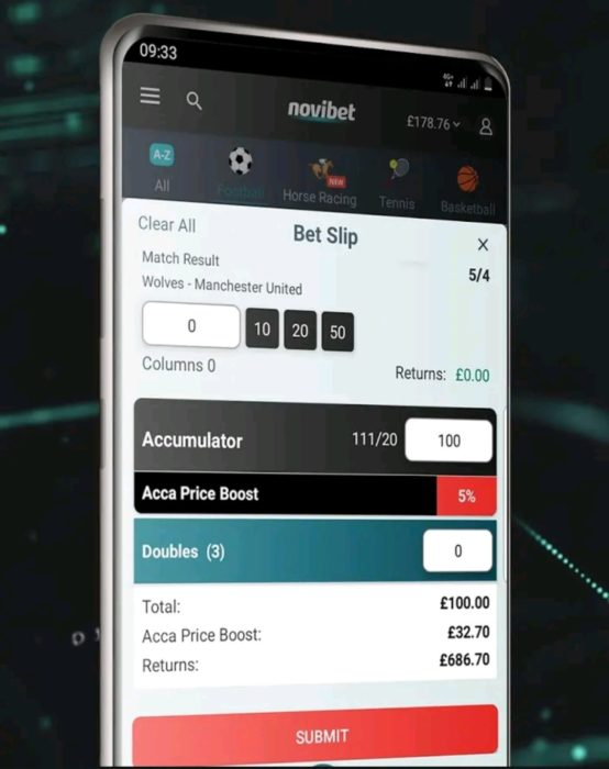 Fantastic new casino app from Novibet