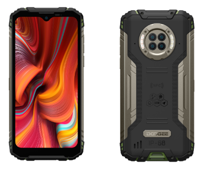DOODOOGEE introduces the S96 Pro   the world's first infrared night vision Android 10.0 rugged smartphone.