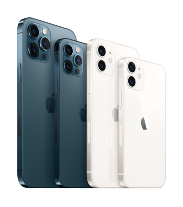 The 5G packing iPhone 12 and iPhone 12 Pro Range announced.