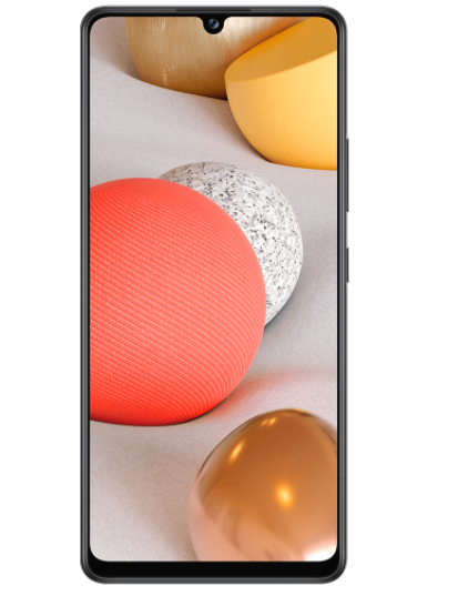 Samsung A42 5G. Now available on Vodafone