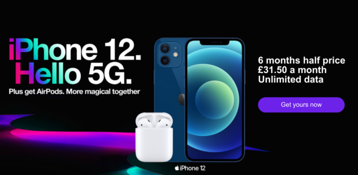 Three deals are ON, including 5G SIM only unlimited everything for £16 per month.