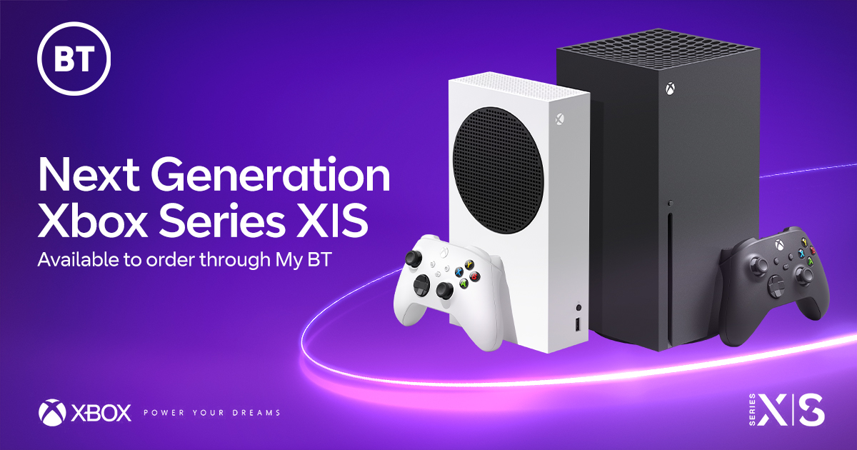 Xbox Series X | S – Now available to BT broadband and EE mobile customers