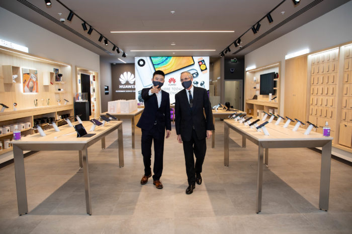 Huawei opens up a retail store in London