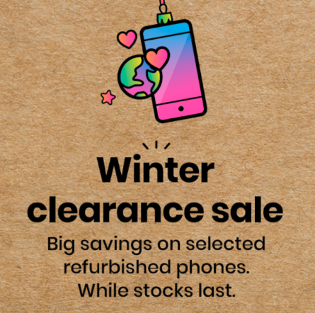 giffgaff reduce the price of refurbished phones