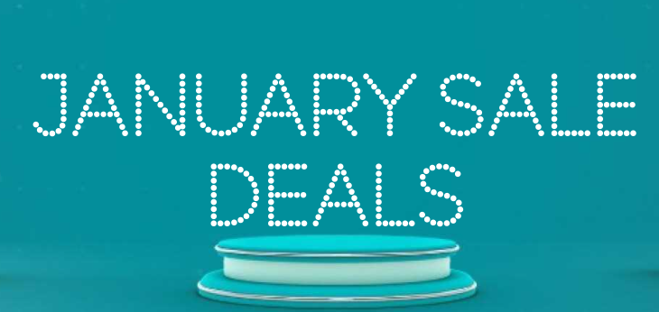 Don't stop shopping! The New Year Sales are ready!