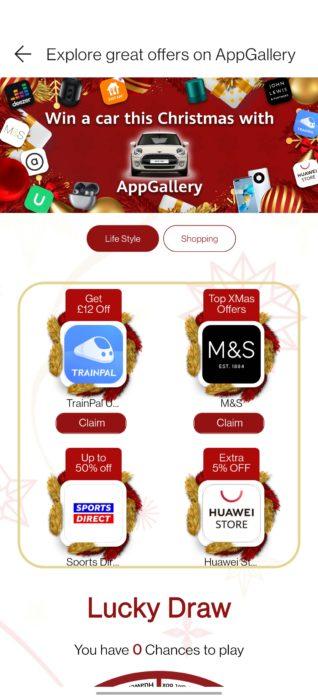 Huawei / Honor AppGallery freebies