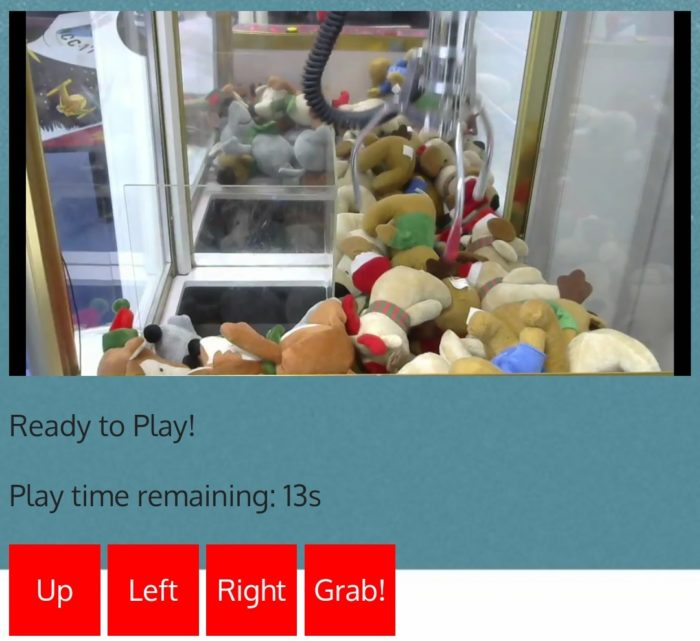 Play Santa Claws via webcam and grab some cash for the NHS