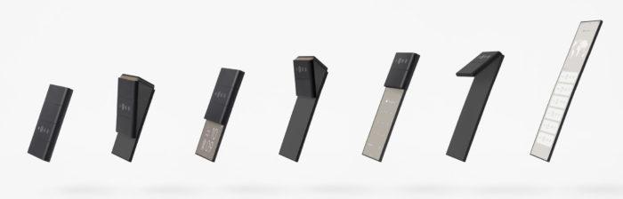 nendo conceptual design slide phone 01