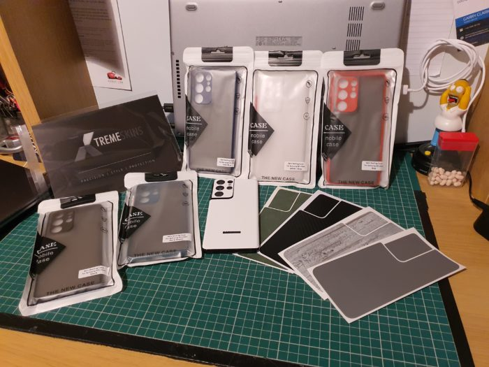 Обзор XtremeSkins X30 и скинов для Galaxy S21 Ultra