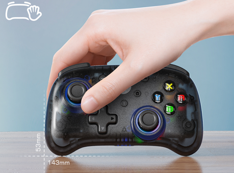 GameSir launches the T4 Mini wireless cross platform controller for travel and those with smaller hands.